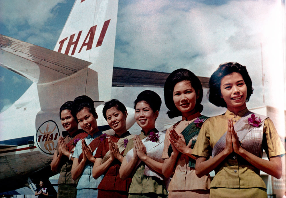 60 år med Thai Airways