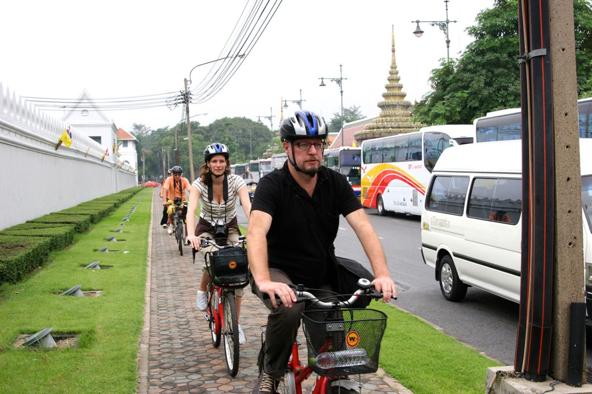 Tillbaka i cykelsadeln