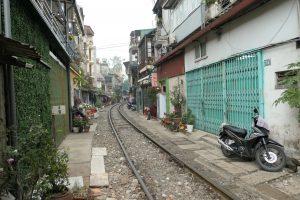 Tåget genom Hanoi