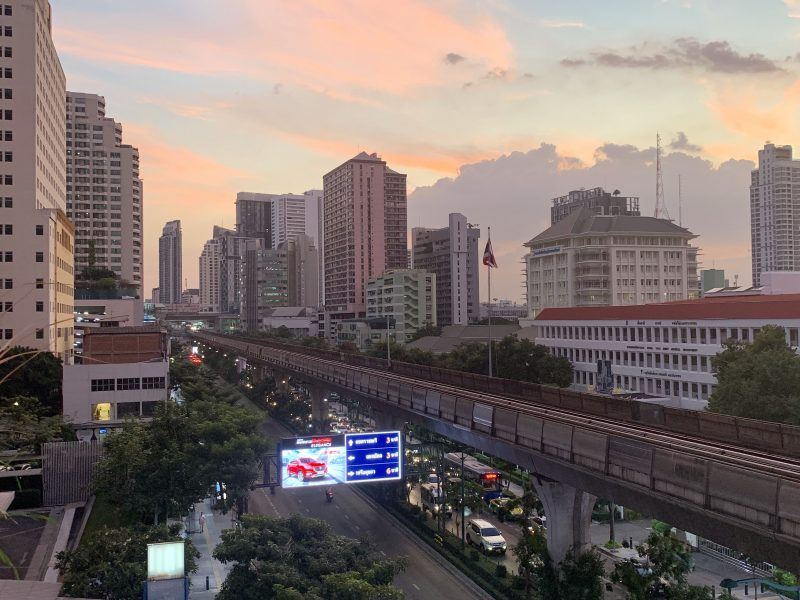 Bangkoks lägsta takbar