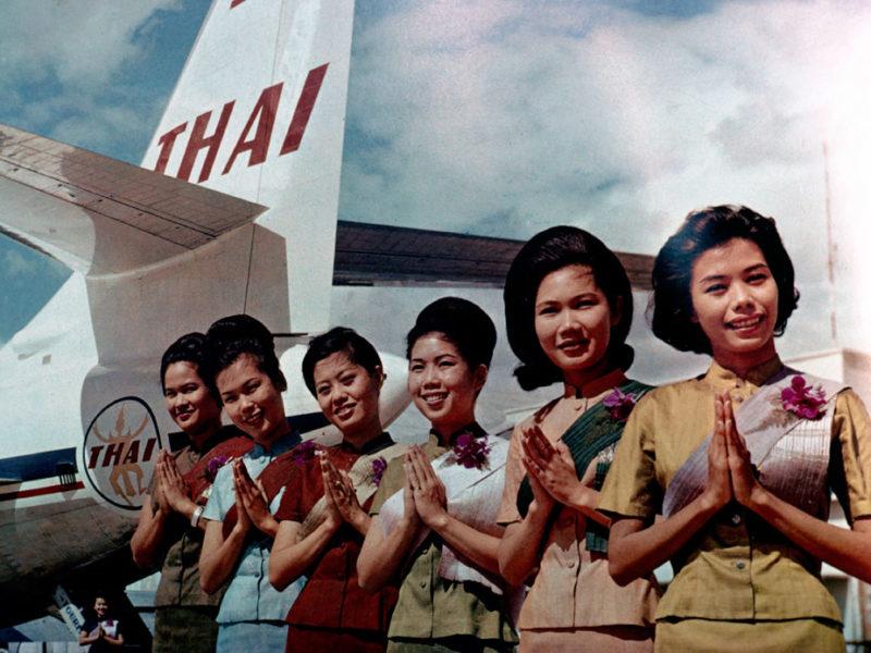 60 år med Thai Airways