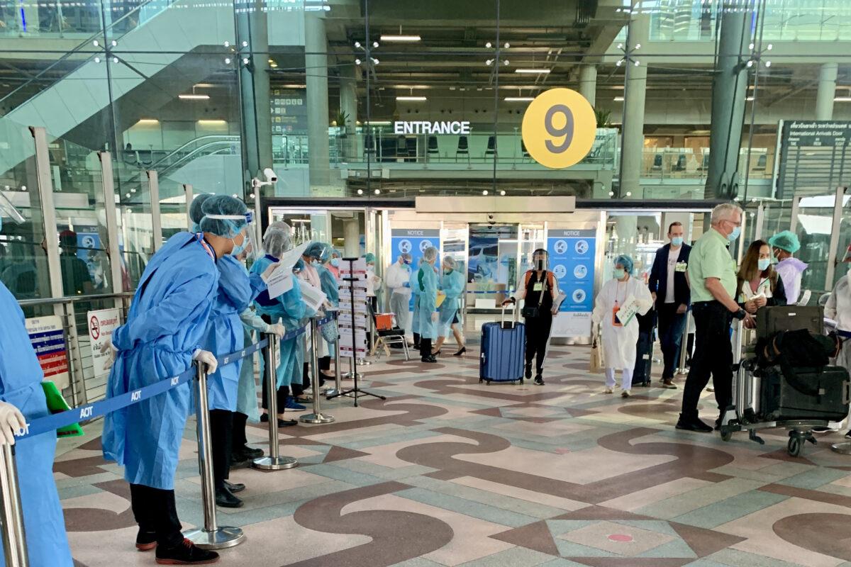 Suvarnabhumi – ankomst till Thailand