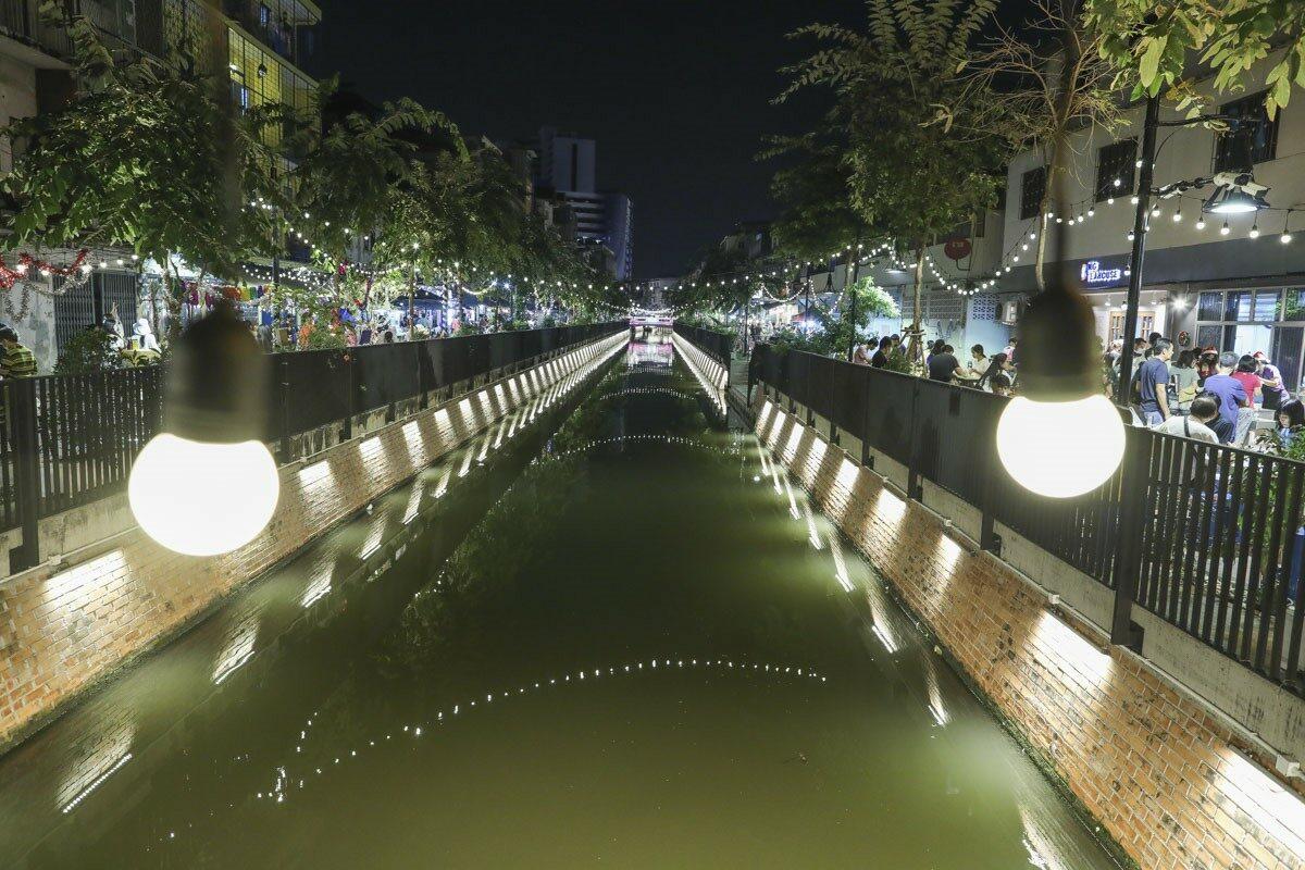 Ong Ang kanalen i Bangkok – en prisbelönt vinnare