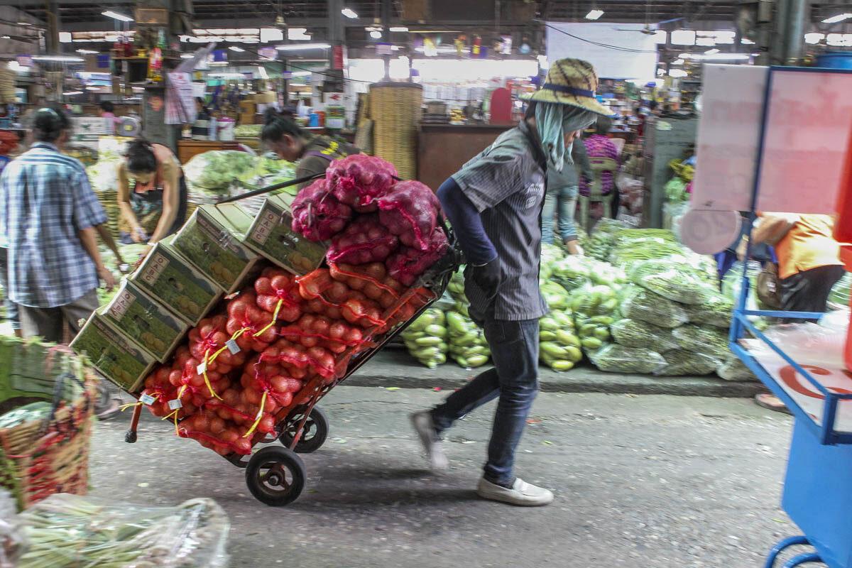 Pak klong talat – Bangkoks klassiska blomstermarknad
