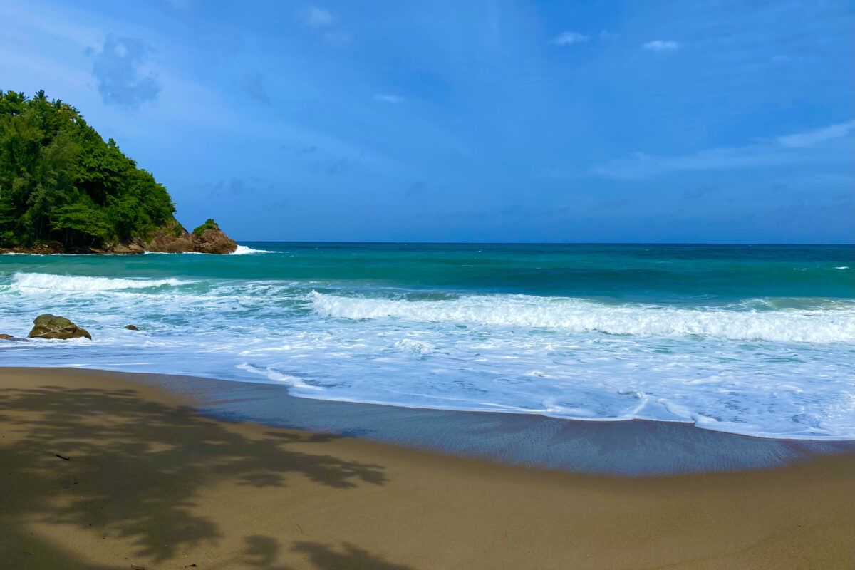 Strandhugg i sandlådan