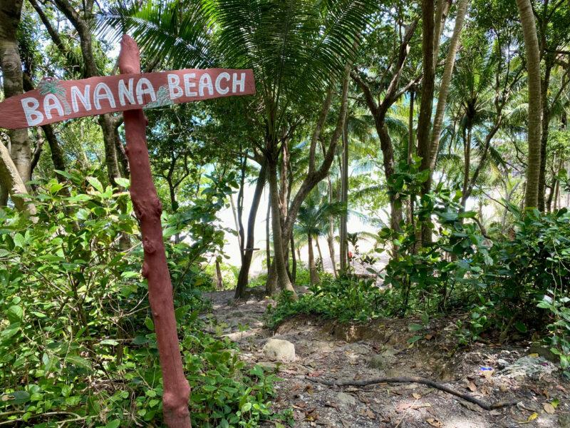 Banana Beach -This Way!